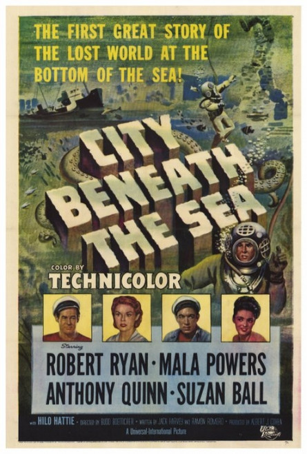 City Beneath the Sea Movie Poster Print (27 x 40) - Item # MOVCF8390
