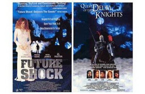 Future Shock-Quest of the Delta Knights Movie Poster (17 x 11) - Item # MOV211151
