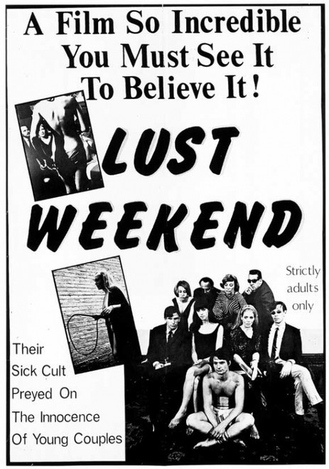 Lust Weekend Movie Poster Print (27 x 40) - Item # MOVGI3735