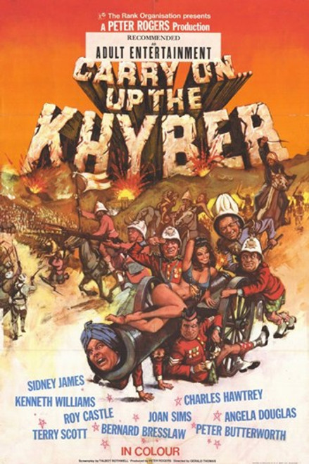 Carry on Up the Khyber Movie Poster (11 x 17) - Item # MOV209043