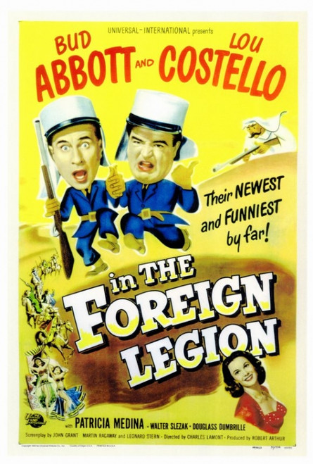 Abbott and Costello in the Foreign Legion Movie Poster Print (27 x 40) - Item # MOVGF0186