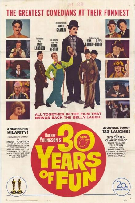 30 Years of Fun Movie Poster Print (27 x 40) - Item # MOVIF9434