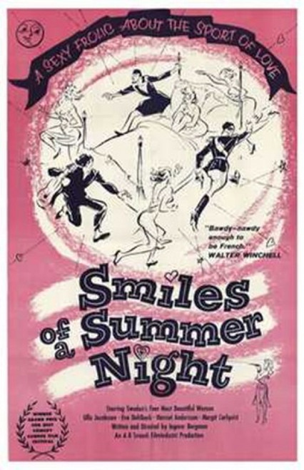 Smiles of a Summer Night Movie Poster (11 x 17) - Item # MOV235556