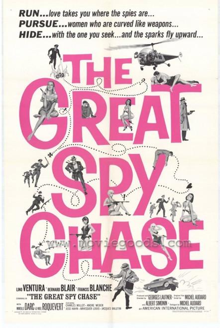 Great Spy Chase Movie Poster Print (27 x 40) - Item # MOVIH5263
