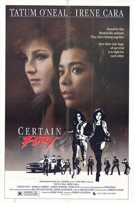 Certain Fury Movie Poster (11 x 17) - Item # MOV206936