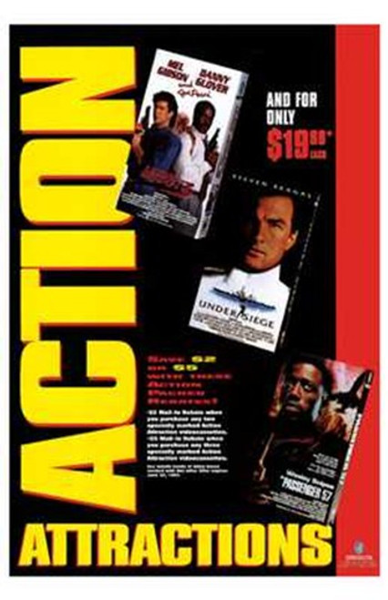 Action Attractions Movie Poster (11 x 17) - Item # MOV211214