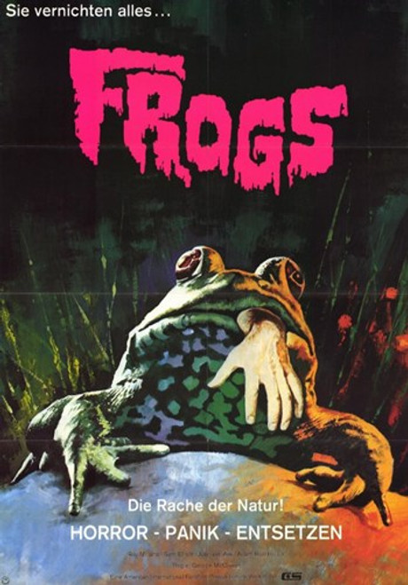 Frogs Movie Poster (11 x 17) - Item # MOV228631