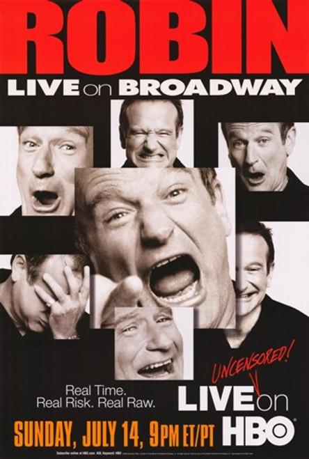 Robin Williams Live on Broadway Movie Poster (11 x 17) - Item # MOV292230