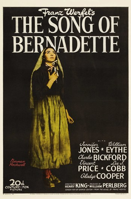 The Song of Bernadette Movie Poster (11 x 17) - Item # MOV413049