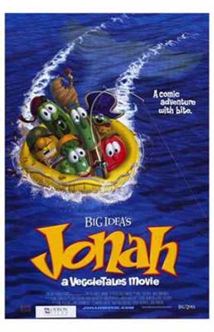 Jonah a Veggietales Movie Movie Poster (11 x 17) - Item # MOV196001