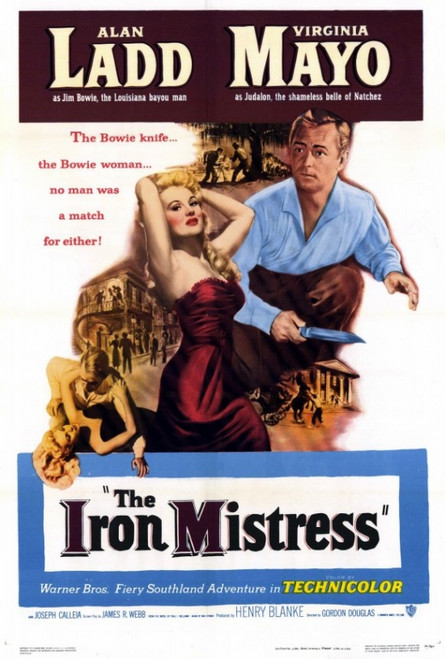 The Iron Mistress Movie Poster Print (27 x 40) - Item # MOVAF9420
