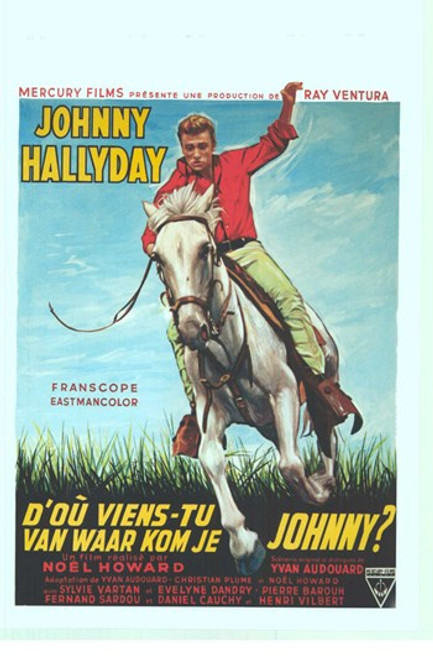 Where Are You From Johnny Movie Poster (11 x 17) - Item # MOV412580