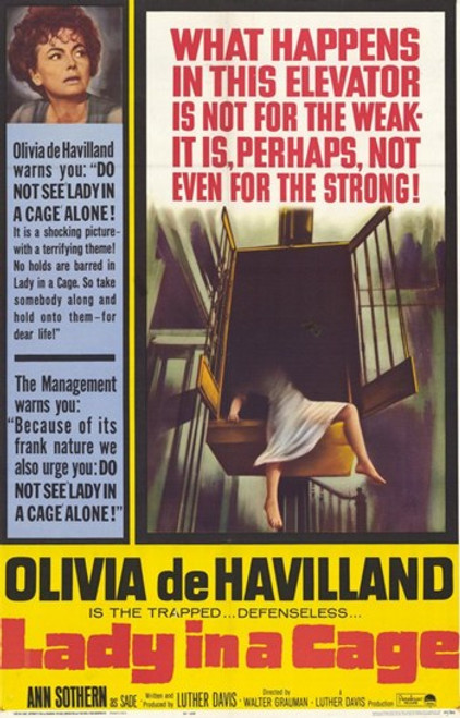 Lady in a Cage Movie Poster (11 x 17) - Item # MOV248963
