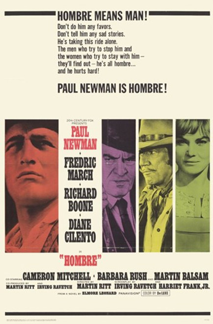 Hombre Movie Poster (11 x 17) - Item # MOV234813