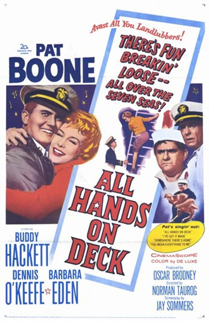 All Hands on Deck Movie Poster (11 x 17) - Item # MOV254120