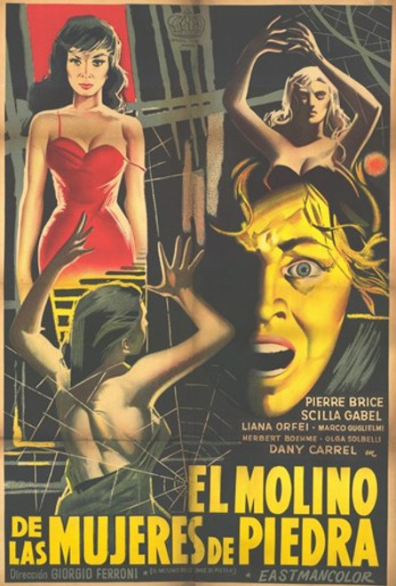 Mill of the Stone Women Movie Poster (11 x 17) - Item # MOV227638