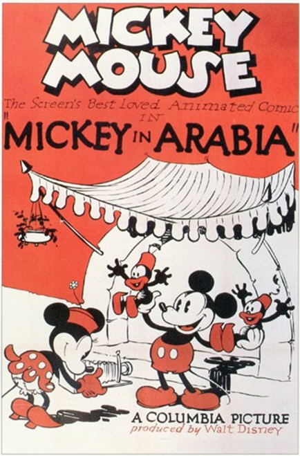 Mickey in Arabia Movie Poster (11 x 17) - Item # MOV250236
