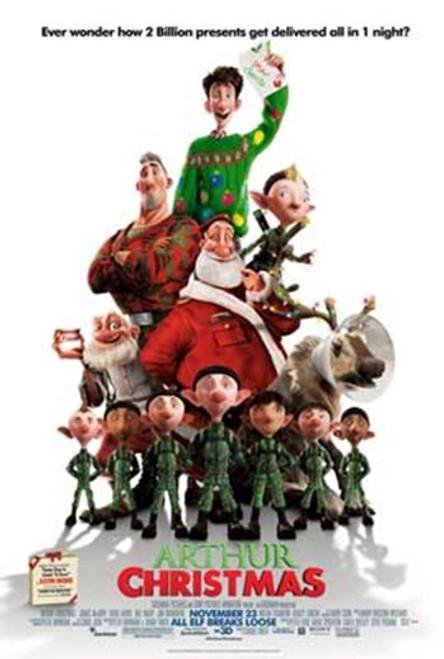 Arthur Christmas Movie Poster (11 x 17) - Item # MOVGB40884