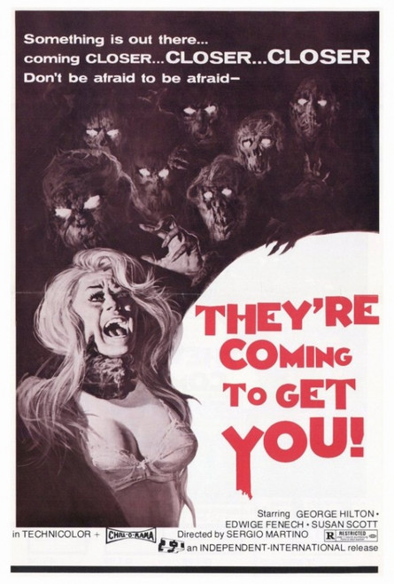 They're Coming to Get You Movie Poster Print (27 x 40) - Item # MOVAH3351