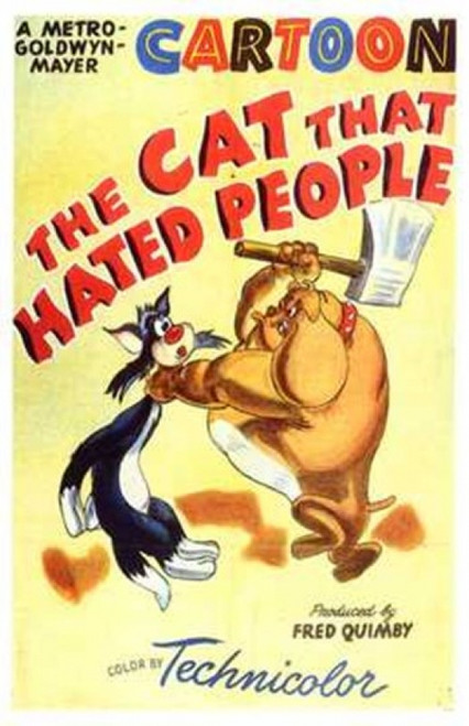 The Cat That Hated People Movie Poster (11 x 17) - Item # MOV198078