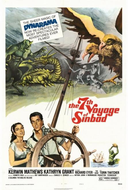 The Seventh Voyage of Sinbad Movie Poster Print (27 x 40) - Item # MOVCF0393