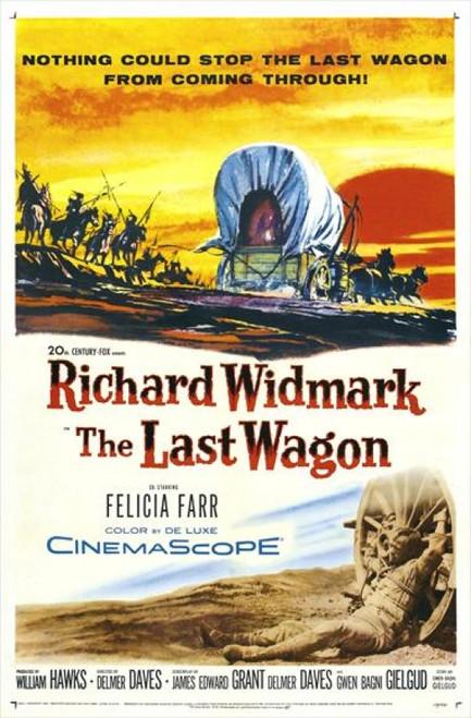 The Last Wagon Movie Poster Print (27 x 40) - Item # MOVEJ1230