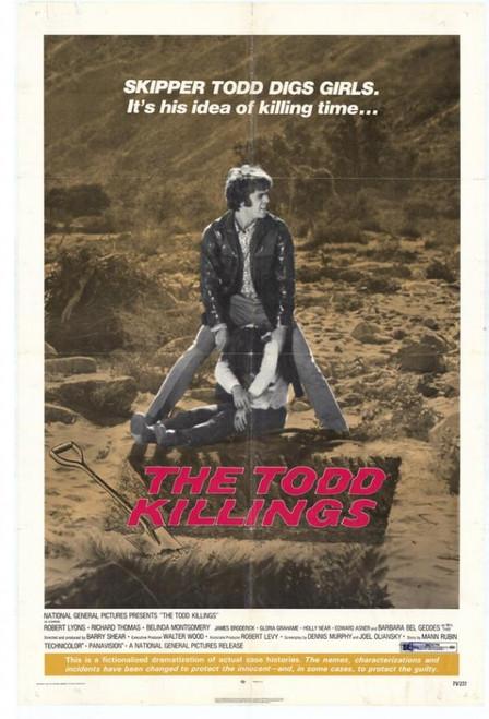 The Todd Killings Movie Poster Print (27 x 40) - Item # MOVIH7270