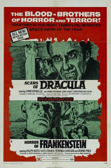 Scars of Dracula Movie Poster Print (27 x 40) - Item # MOVAJ6273