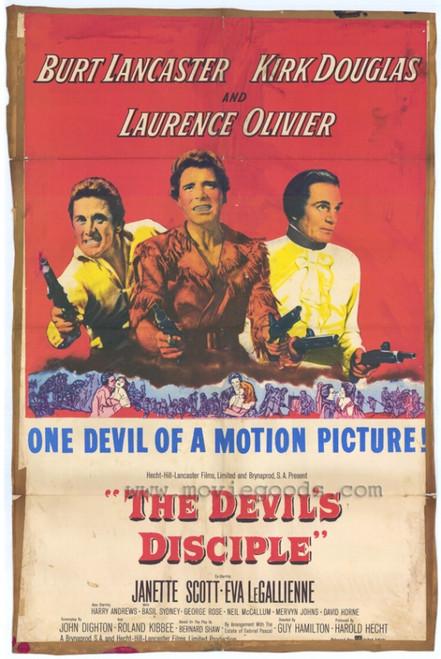 The Devil's Disciple Movie Poster Print (27 x 40) - Item # MOVGH7678
