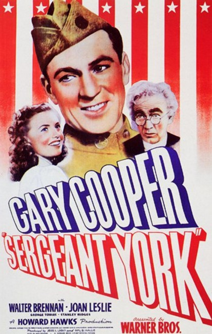 Sergeant York Movie Poster (11 x 17) - Item # MOV257868