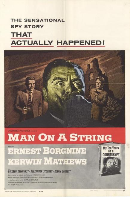 Man on a String Movie Poster Print (27 x 40) - Item # MOVCF5890