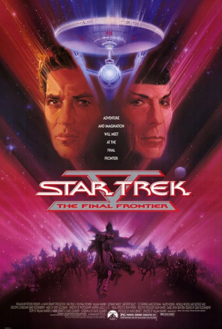 Star Trek 5: The Final Frontier Movie Poster Print (27 x 40) - Item # MOVEF5287
