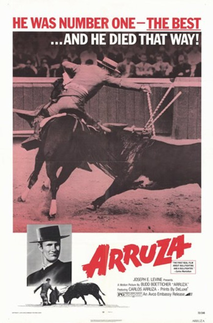 Arruza Movie Poster (11 x 17) - Item # MOV249554