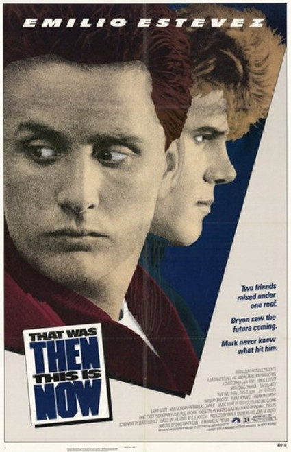 That Was Then This Is Now Movie Poster (11 x 17) - Item # MOV244185