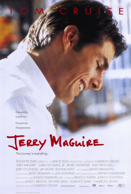 Jerry Maguire Movie Poster Print (27 x 40) - Item # MOVIF6419