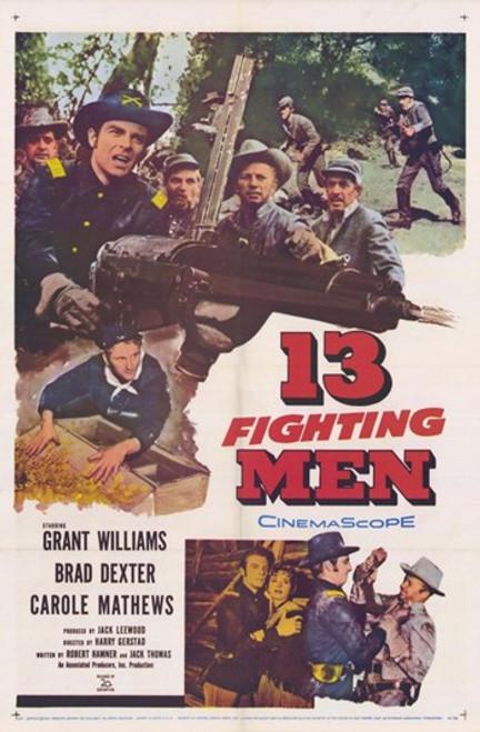 13 Fighting Men Movie Poster (11 x 17) - Item # MOV253901