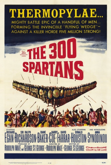The 300 Spartans Movie Poster Print (27 x 40) - Item # MOVEF8196