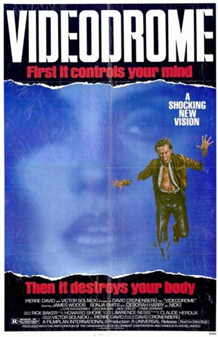 Videodrome Movie Poster (11 x 17) - Item # MOV208908