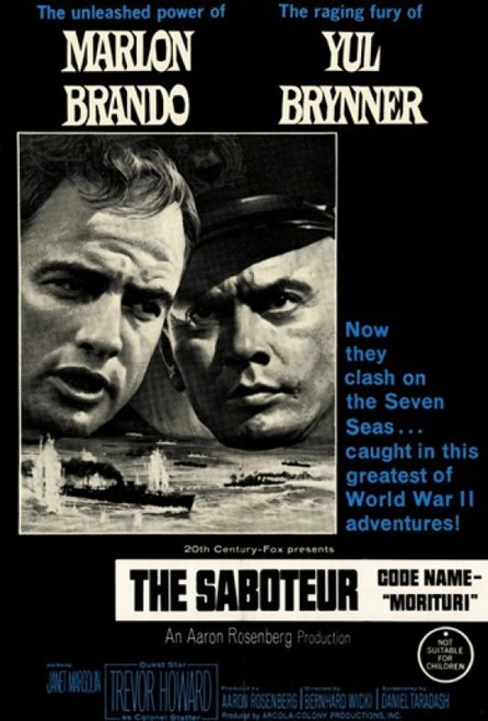 The Saboteur Movie Poster (11 x 17) - Item # MOV247526