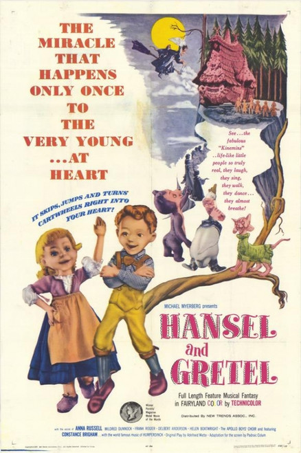 Hansel and Gretel Movie Poster Print (27 x 40) - Item # MOVGH8346