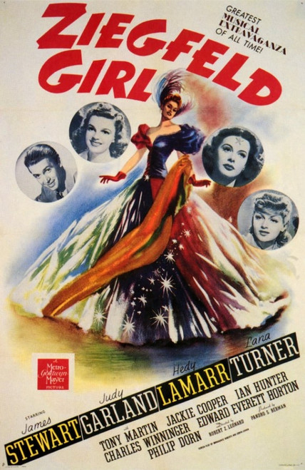 Ziegfeld Girl Movie Poster Print (27 x 40) - Item # MOVCF0358