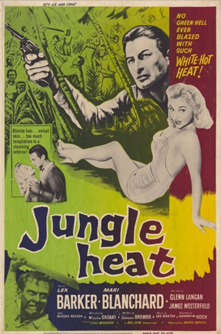 Jungle Heat Movie Poster (11 x 17) - Item # MOV232548