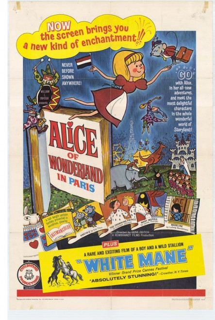 Alice of Wonderland in Paris Movie Poster Print (27 x 40) - Item # MOVAH4267