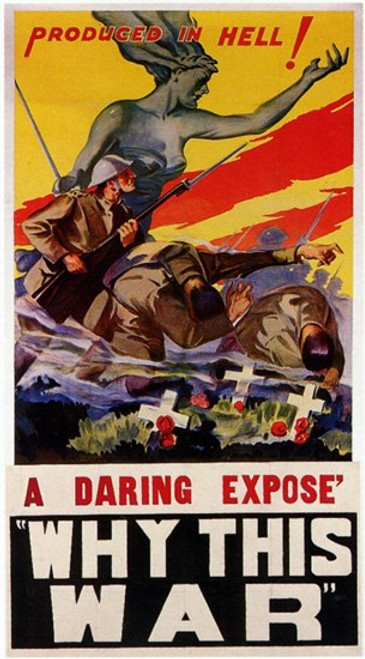Why This War Movie Poster (11 x 17) - Item # MOV198694
