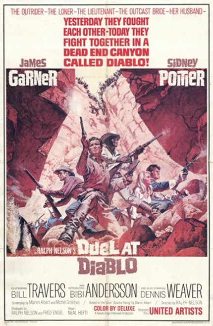 Duel at Diablo Movie Poster (11 x 17) - Item # MOV254967
