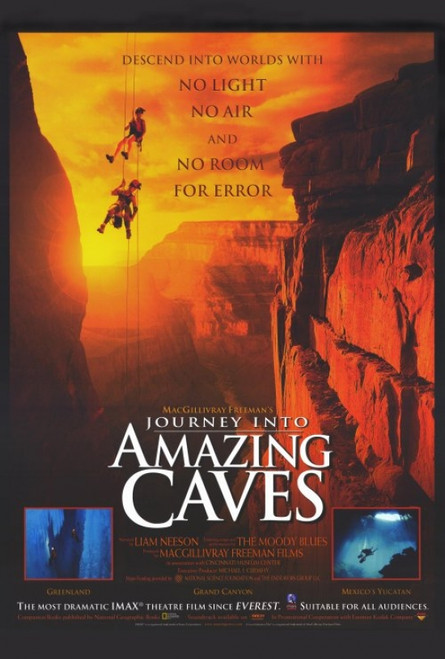 Journey Into Amazing Caves (IMAX) Movie Poster Print (27 x 40) - Item # MOVGH2324
