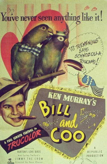 Bill and Coo Movie Poster (11 x 17) - Item # MOV251348