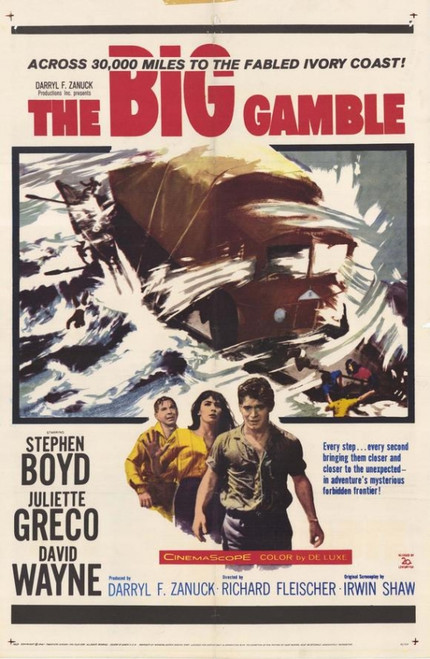 The Big Gamble Movie Poster Print (27 x 40) - Item # MOVIH5199