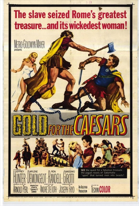 Gold for the Caesars Movie Poster Print (27 x 40) - Item # MOVIH7220