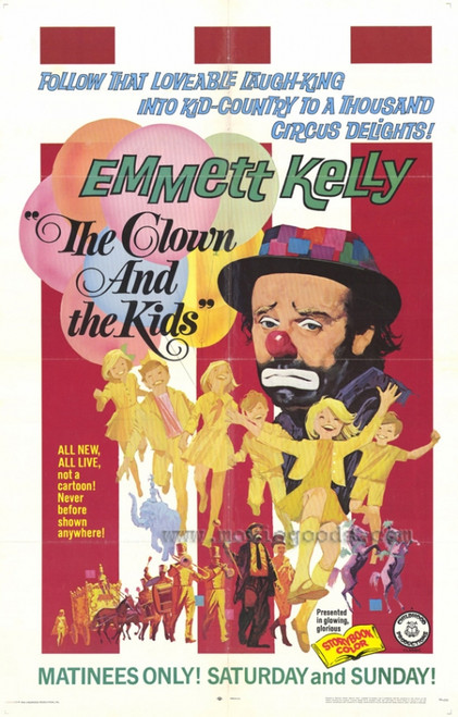 Clown and the Kids Movie Poster Print (27 x 40) - Item # MOVEF9383